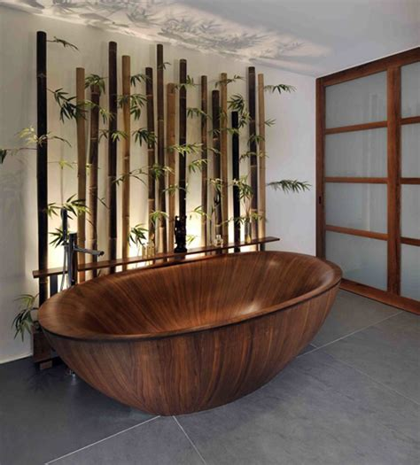 bamboo themed bathroom 20 neat bamboo themed bathrooms home design lover