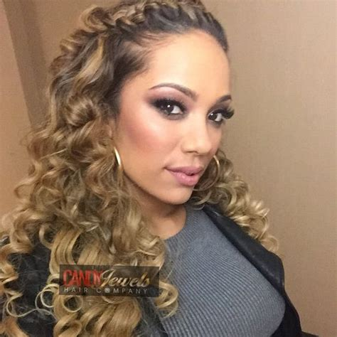 how to curl puerto rican hair with kms for men half dominican half puerto rican stunner erica mena