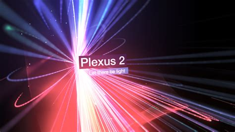 tutorial after effects plexus colorful 3d light beams with plexus 2 on after effects