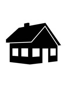 haus silhouette house silhouette 998 h m coloring pages