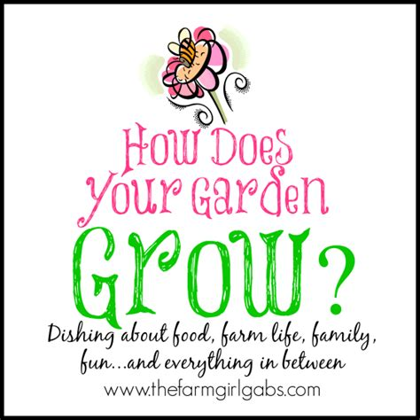 How Does Your Garden Grow by How Does Your Garden Grow The Sits