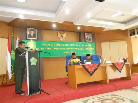 seminar pembinaan lembaga keagamaan kanwil kemenag dki