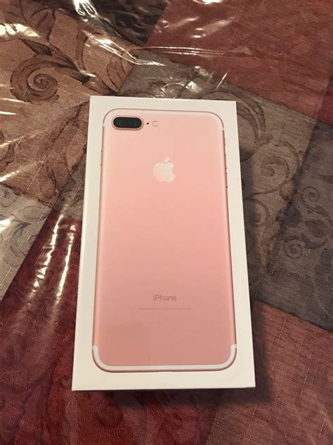 Apple Iphone 7plus 128gb Rosegold Factory Unlocked iphone 7 plus 128gb gold unlocked with warranty whatsapp chat 19179461297 for sale in