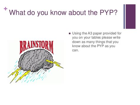 teachers assistant in the pyp pd