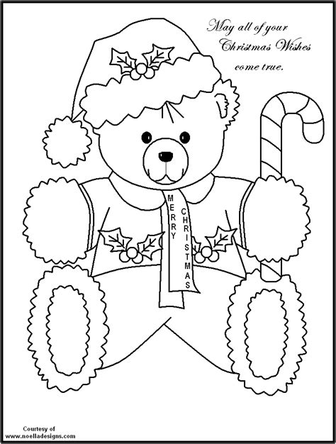 christmas coloring pages teddy bear teddy bears coloring pages az coloring pages