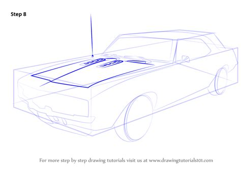 how to draw a sports car step by step drawingforall net learn how to draw a 1969 camaro sports cars step by step