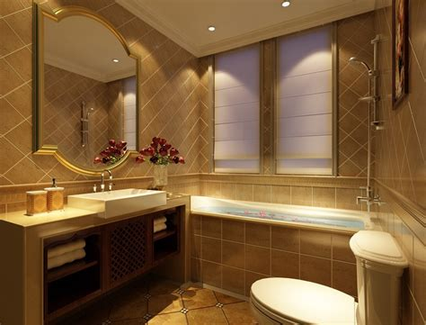Interior Bathroom Design by Hotel Room Bathroom Interior Design 3d House Free 3d