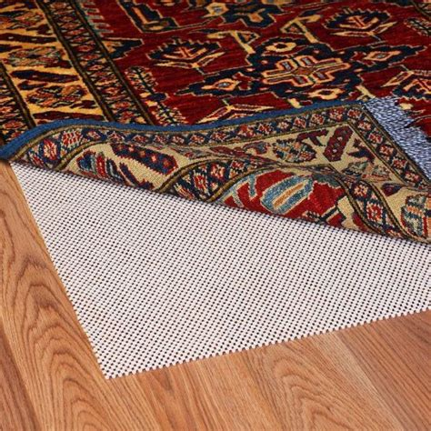 rug stop slipping grip it stop cushioned non slip rug pad for rugs on surface floors 12 by 15