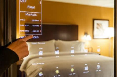 tech hotel self service technology in the hospitality industry