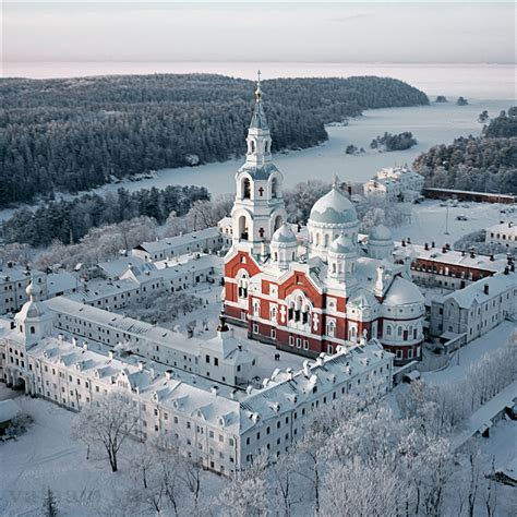 Islands For A Kitchen by Valamo Monastery Former Heart Of The Finnish Orthodox