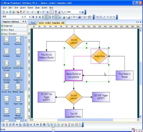 flow chart software free flowchart design software creates flowchart edraw