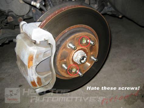 honda rotors how to remove the rotor screws from your honda acura s