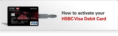 How To Activate Your Visa Gift Card - how to activate your hsbc visa debit card hsbc australia