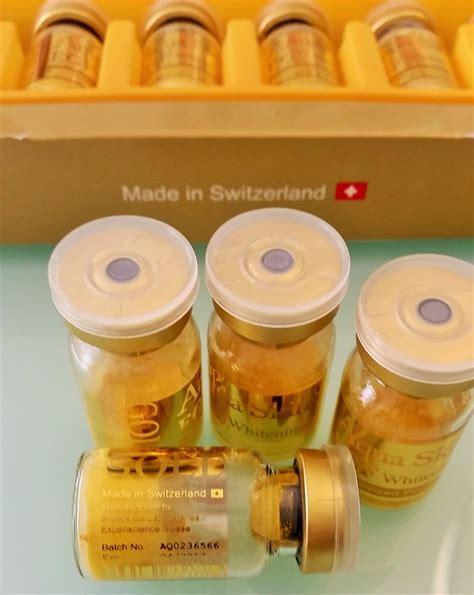 Bio Gluta Placenta aqua skin 18 vials 5 glutathione philippines