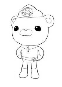 octonauts coloring pages bestofcoloring