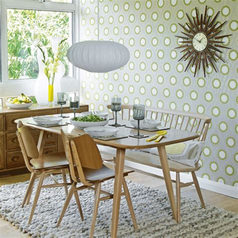 Vintage Kitchen Wallpaper Uk by Dining Room Wallpaper Ideas Ideal Home