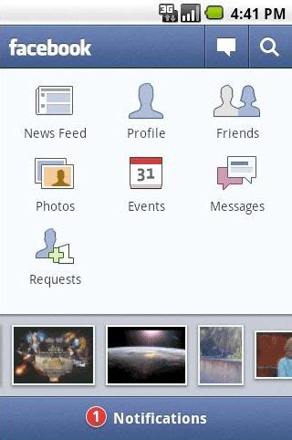 mobile comfacebook for android receives update