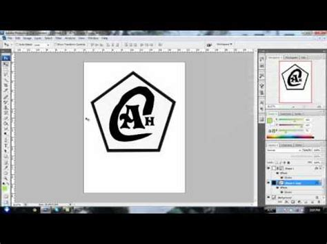 cara membuat logo windows di photoshop membuat logo dengan photoshop youtube