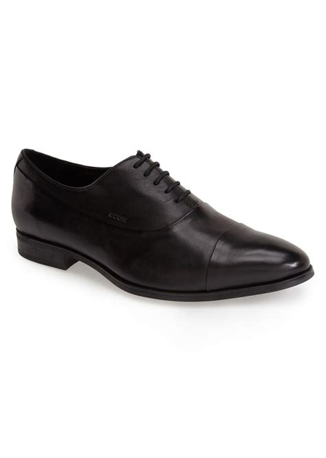 geox oxford shoes geox geox albert 2 leather cap toe oxford shoes