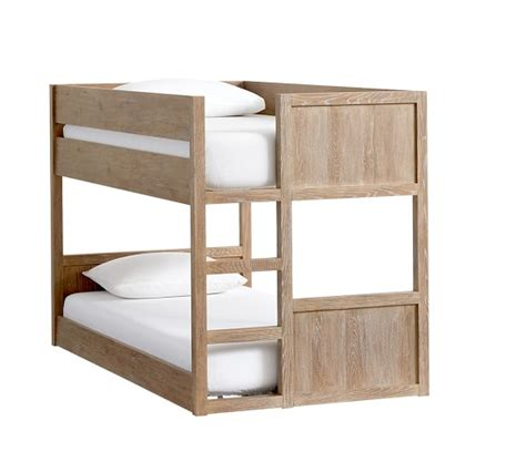 pottery barn bunk beds camden twin over twin low bunk bed pottery barn kids