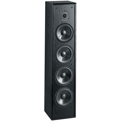 Speaker Tower bic venturi dv84 8 quot 2 way tower speaker black