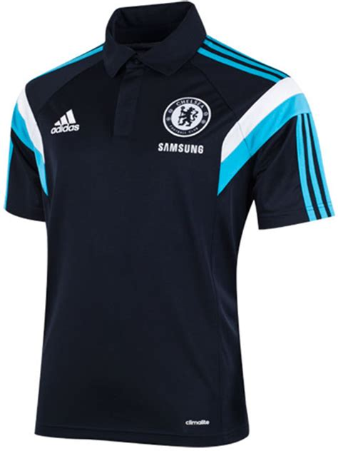 polo shirt chelsea navy 2014 2015 big match jersey