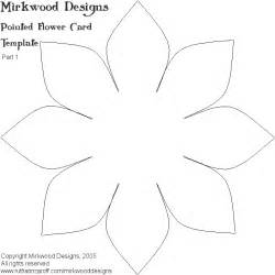Lotus Flower Petal Template Mel Stz White Lotus Card Wrinked Cardstock This
