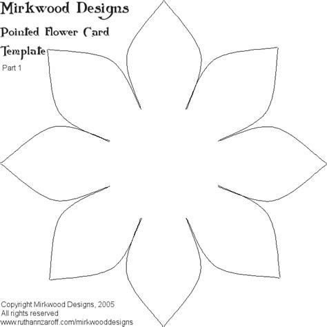 mirkwood designs flower card template mel stz white lotus card wrinked cardstock this