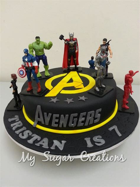Local Cake Decorating Classes My Sugar Creations 001943746 M The Avengers Cake