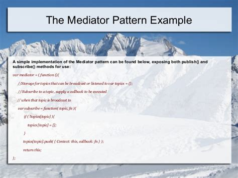 javascript broadcast pattern design patterns in java script jquery angularjs