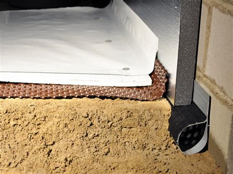 the terrablock crawl space floor insulation system