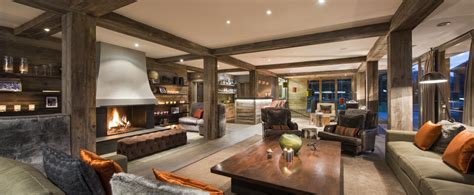 French Modern Interior Design Ultimate Luxury Chalets Luxury Ski Chalets