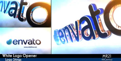 logo opener tutorial after effects white logo opener project for after effects videohive