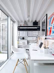 home office spaces tidy and organized home offices and workspaces to motivate you decorology