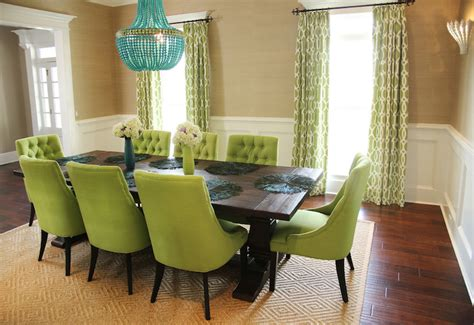 green dining rooms green dining chairs contemporary dining room