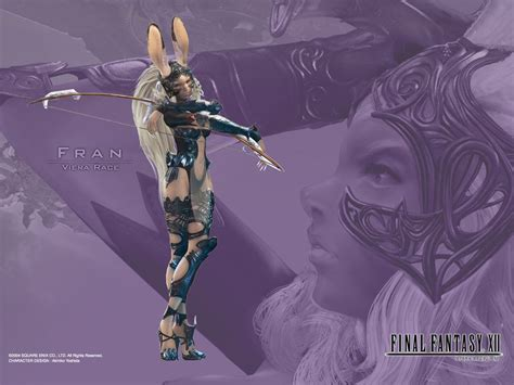 fran final fantasy 12 final fantasy xii ffxii ff12 wallpapers