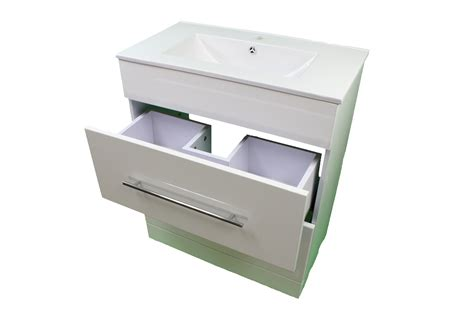 sink drawers bathroom bathroom cloakroom 700 white sink vanity unit 2 drawer