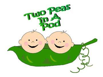two peas in a pod clip art clipart best