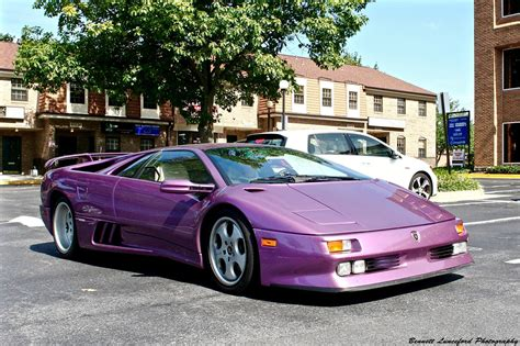 Purple Lamborghini Diablo by A Purple Lamborghini Diablo 30th Anniversary Special