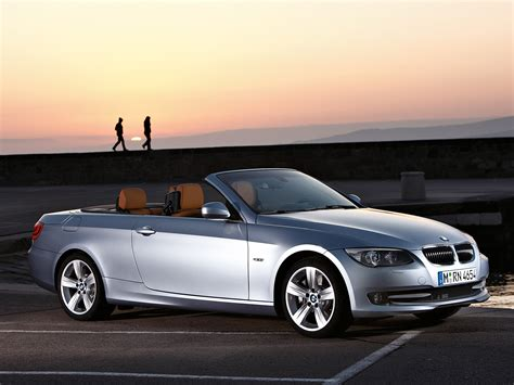 2008 bmw models 2008 bmw 3 series cabrio e93 pictures information and