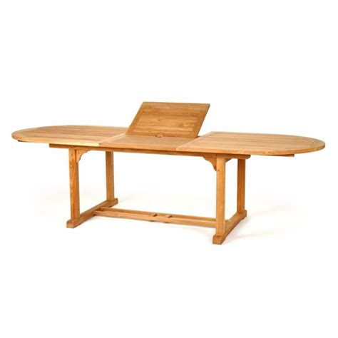 120 Dining Table Oval Teak 84 Inches To 120 Inches Extension Dining Table From Caluco