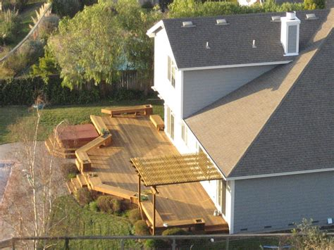 backyard decking file backyard deck jpg wikipedia
