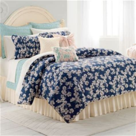 kohls twin xl bedding lc lauren conrad summer nights 2 pc reversible comforter