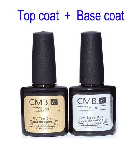 best gel nail l cmb gel nail polish top coat base coat kit uv gel nail