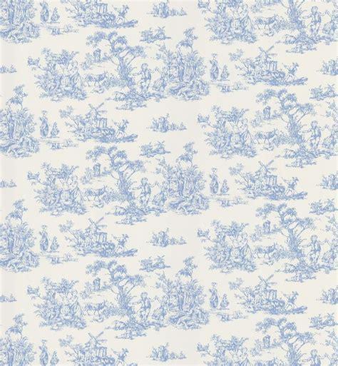 wallpaper toile blue blue and white toile wallpaper 40349253 miniature fabric