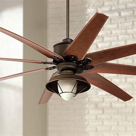 bronze outdoor ceiling fan 72 quot predator bronze outdoor ceiling fan with light kit