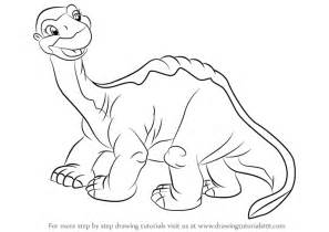 learn draw littlefoot land land step step