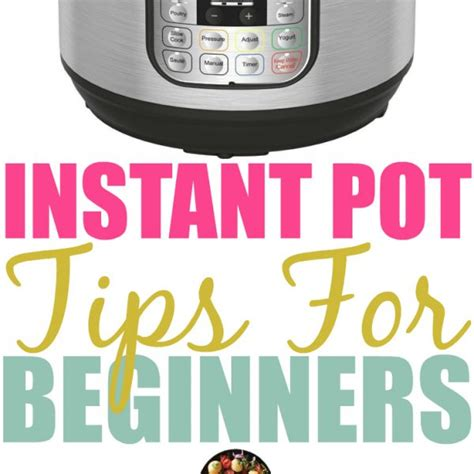 instant pot for beginners awe recipes archives couponing