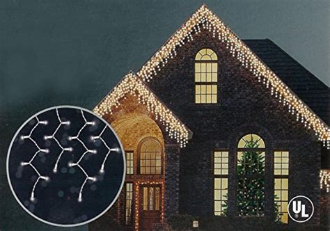 shimmering christmas lights northlight shimmering clear mini icicle lights with import it all
