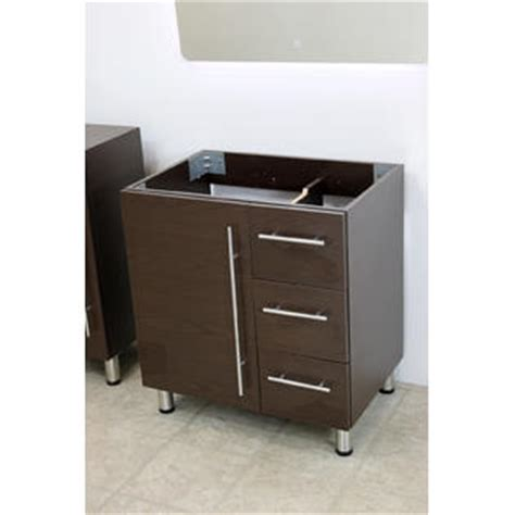 Free Standing Vanity Windbay 30 Quot Free Standing Bathroom Vanity Sink Set Vanities Sink Brown